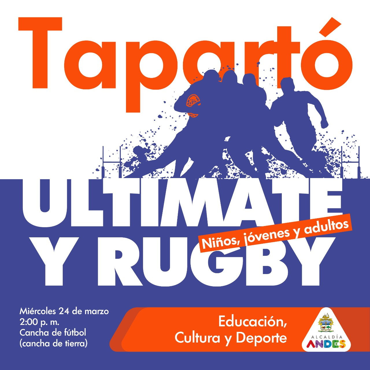 Ultimate y Rugby en Tapartó